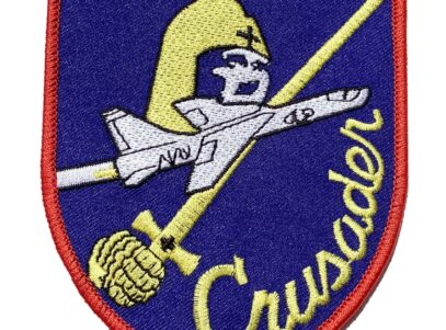 F-8 Crusader Patch – Plastic Backing