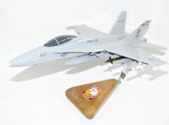 """VMFA-312 Checkerboards """"Fight's On"""" 2018 F/A-18C Model"""