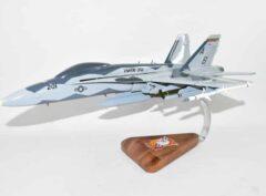 """VMFA-312 Checkerboards """"Fight's On"""" 2005 F/A-18C Model"""