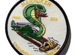 HMA-369 MARHUCKER Patch - Sew On