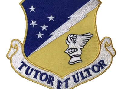 TUTOR ET ULTOR 49th Wing Patch – Plastic Backing