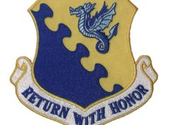 RETURN WITH HONOR 31st Fighter Wing Patch – Plastic Backing