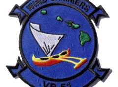 WIND JAMMERS VR-51 Patch – Plastic Backing