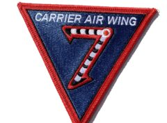 Carrier Air Wing CVW-7 Patch- Sew On