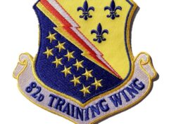 82nd Training Wing Patch – Plastic Backing