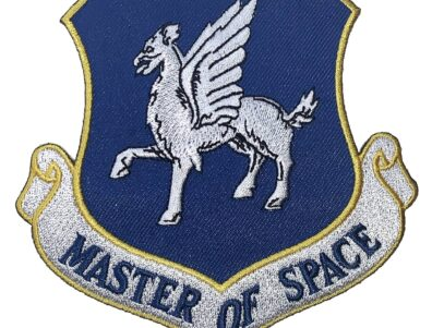 MASTER OF SPACE 50th Space Wing Patch – Plastic Backing