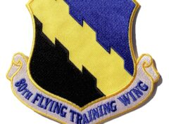 80th Flying Training Wing Patch – Plastic Backing