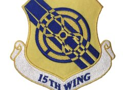 15th Wing Patch – Plastic Backing