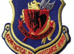 432ND TACTICAL RECONNAISSANCE WING Patch – Plastic Backing