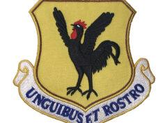 18th Wing UNGUIBUS ET ROSTRO Patch – Plastic Backing
