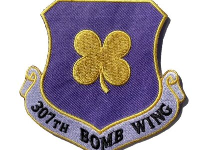 307th Bomb Wing Patch – Plastic Backing