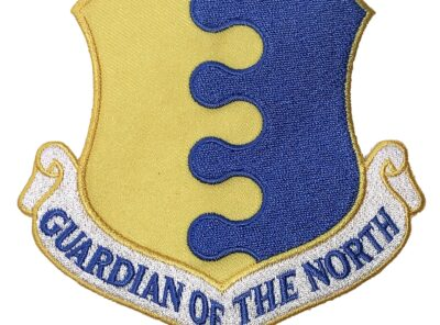 GUARDIAN OF THE NORTH 28th Bomb Wing Patch – Plastic Backing