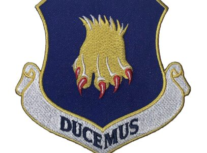 DUCEMUS 22nd Air Refueling Wing Patch – Plastic Backing