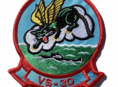 VS-30 Diamond Cutters Squadron Patch – Plastic Backing
