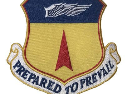PREPARED TO PREVAIL 36th Wing Patch – Plastic Backing