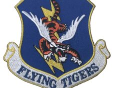 FLYING TIGERS 23d Fighter Group Patch – Plastic Backing