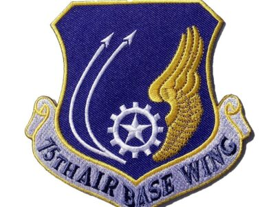 75th Air Base Wing Patch – Plastic Backing