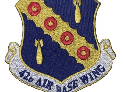 42nd Air Base Wing Patch – Plastic Backing
