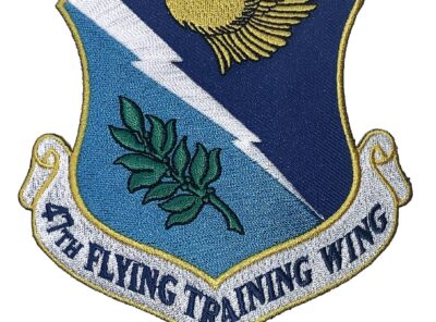 47th Flying Training Wing Patch – Plastic Backing