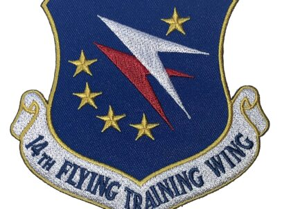 14th Flying Training Wing Patch – Plastic Backing