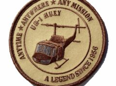 UH-1 Huey A Legend Since 1969 OD Green Patch Patch -Sew On
