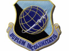 DUPLUM INCOLUMITATIS 92d Air Refueling Wing Patch – Plastic Backing