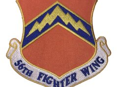 56th Fighter Wing Patch – Plastic Backing