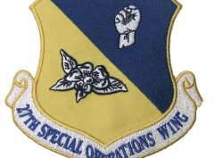 27TH SPECIAL OPERATIONS WING Patch – Plastic Backing