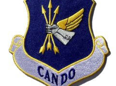 CAN DO 305th Air Mobility Wing Patch – Plastic Backing