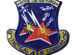 ROYAL LAO AIR FORCE Patch – Plastic Backing