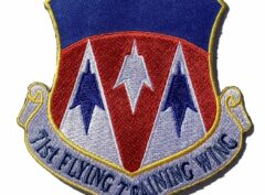 71st Flying Training Wing Patch – Plastic Backing