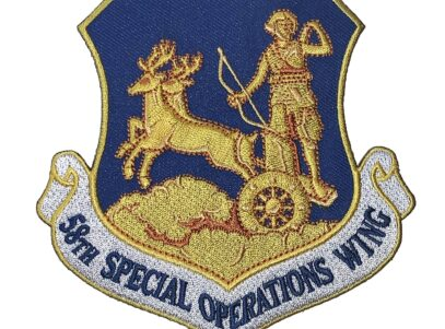 58th Special Operations Wing Patch – Plastic Backing