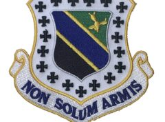NON SOLUM ARMIS 3rd Wing Patch – Plastic Backing