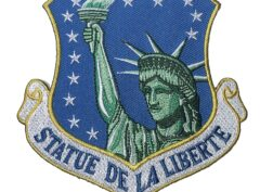 STATUE DE LA LIBERTE 48th Fighter Wing Patch – Plastic Backing