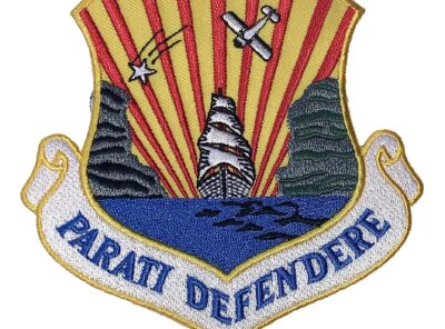 Parati Defendere 6th Strategic Reconnaissance Wing Patch – Plastic Backing