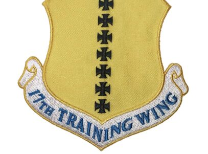 17th Flying Training Wing Patch – Plastic Backing