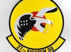 27th Fighter Squadron Plaque