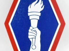 442nd Infantry Regiment Plaque