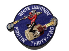 VF-32 WHITE LIGHTNIN' FIGHTIN' THIRTY-TWO Patch
