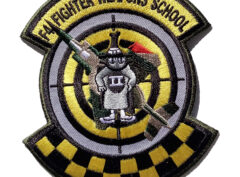 F-4 Fighter Weapons School Patch