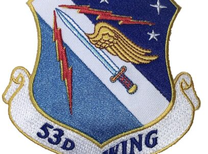 53rd Wing Patch – Plastic Backing