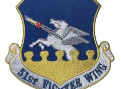 51st Fighter Wing Patch – Plastic Backing
