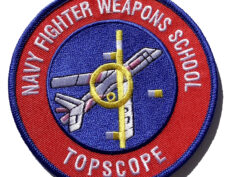 Navy Fighter Weapons School TopScope Patch