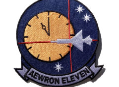 VW-11 Airborne Early Squadron Eleven Patch