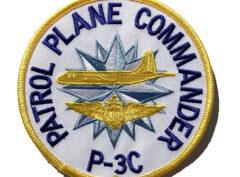 Patrol Plane Commander P-3 Patch