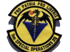 3rd Special Operations Squadron Patch – Sew On