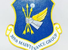 305th Maintenance Group Plaque