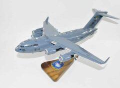 144th Airlift Squadron Alaska ANG C-17 Model
