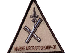 Marine Air Group 31 MAG-31 (gray) - No Hook & Loop