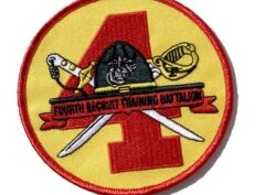 4th Recruit Training Bn Patch – No Hook & Loop